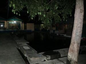 Der Pool meines Hotels