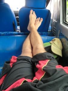 Minibus zum Bromo