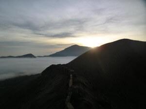 Sonnenaufgang am Bromo