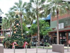 Weihnachtsstimmung in Darwin