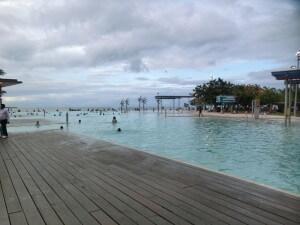 Die Lagune von Cairns