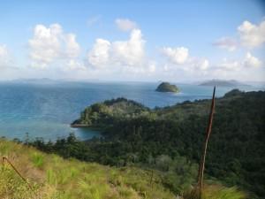 Aussicht von Molle Island