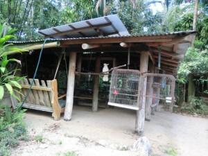Gemeinschaftsbereich im Camp