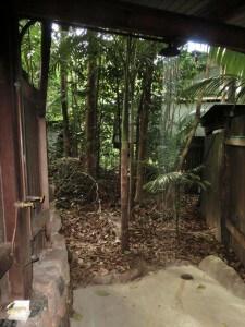 Dusche im Bushcamp