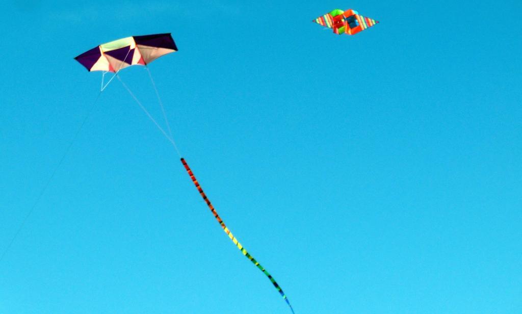 Drachen in der Luft