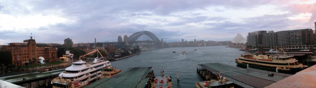 Harbourbridge und Oper