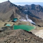Vulkanseen im Tongariro Crossing