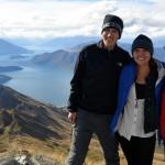 Gruppenfoto auf Roys Peak
