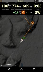 XC Track in Verwendung mit Condor